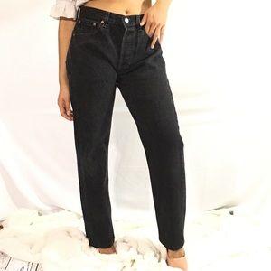 Levi's 501 button fly vintage denim jeans